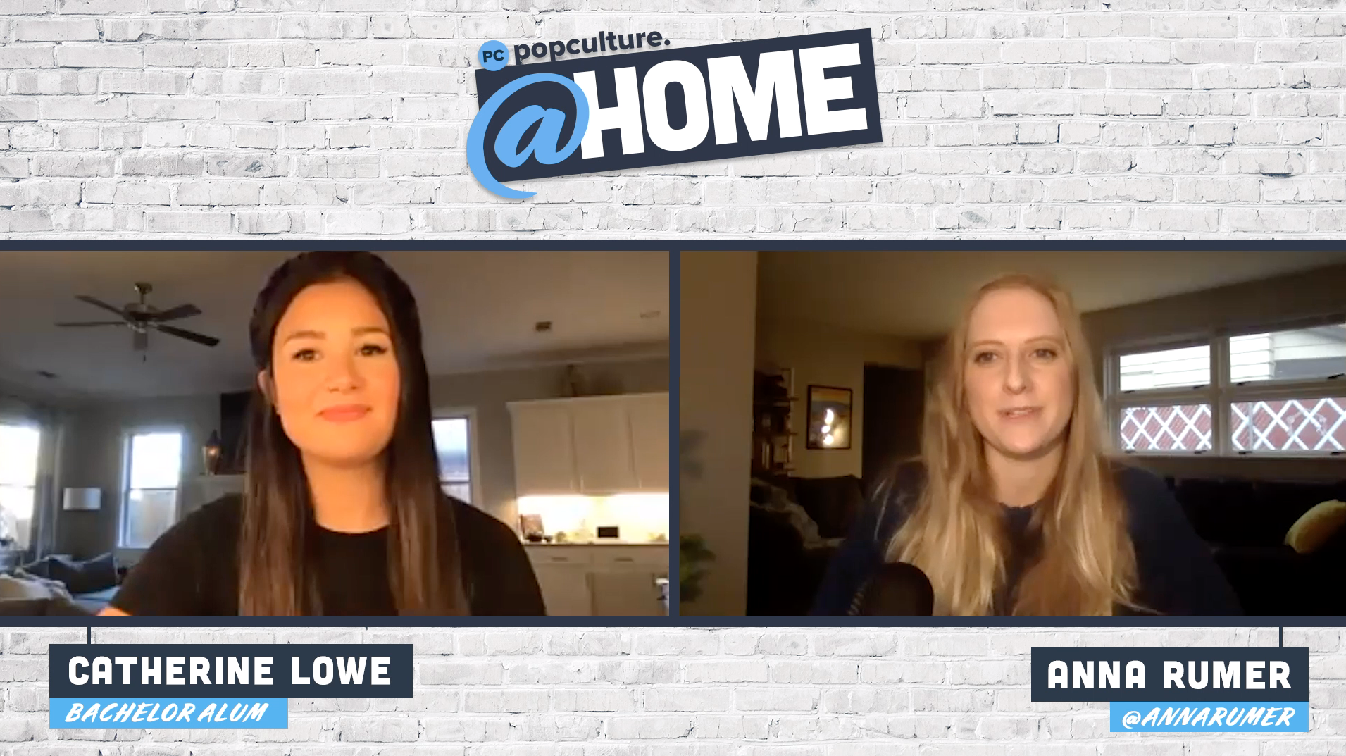 Catherine Lowe - PopCulture @Home Exclusive Interview
