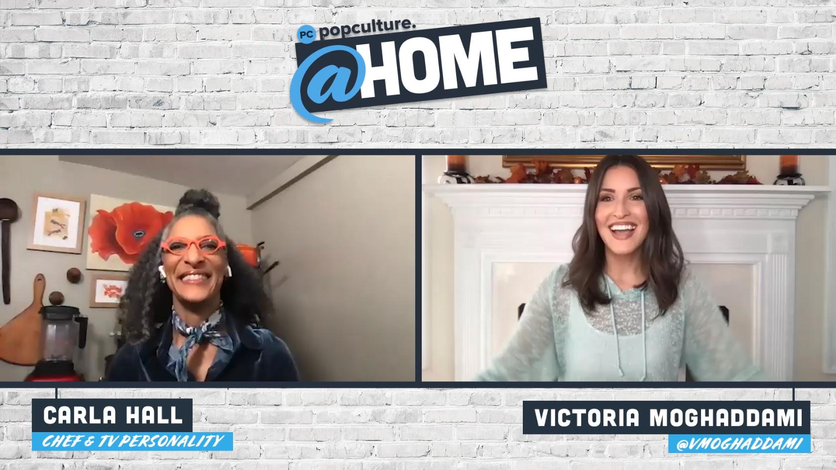 Chef Carla Hall - PopCulture @Home Exclusive Interview