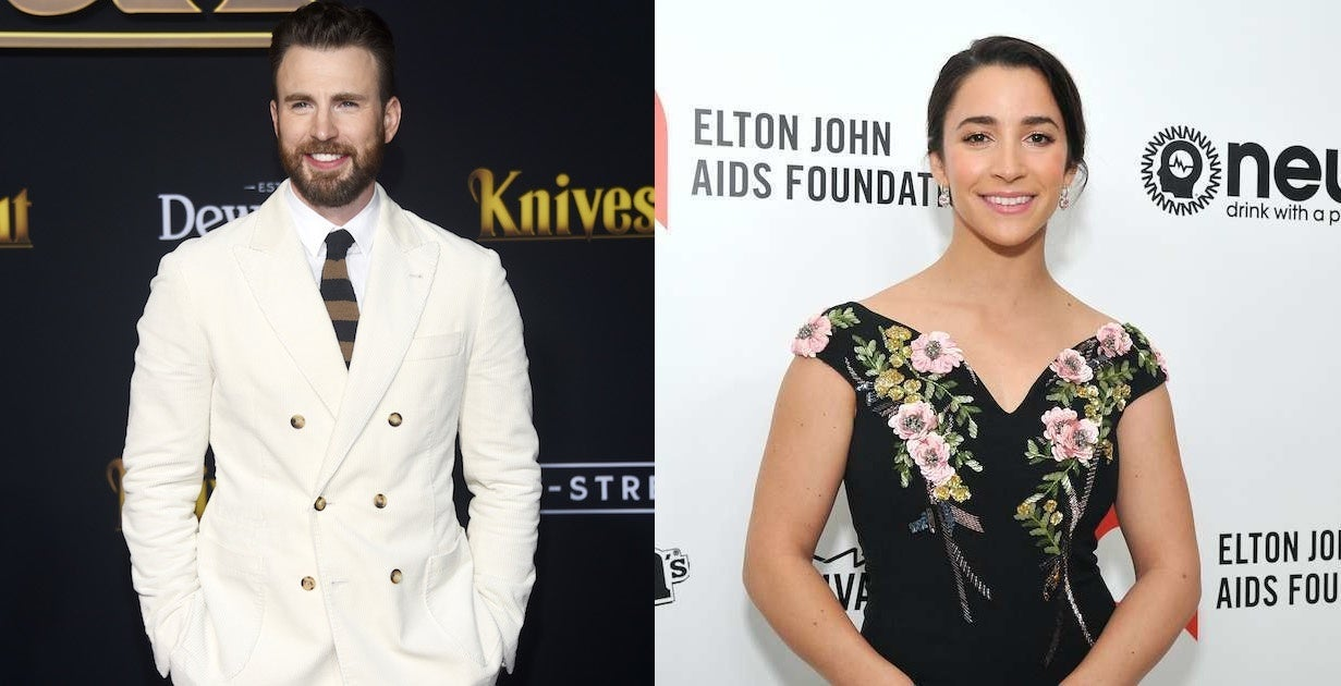 chris-evans-aly-raisman-getty
