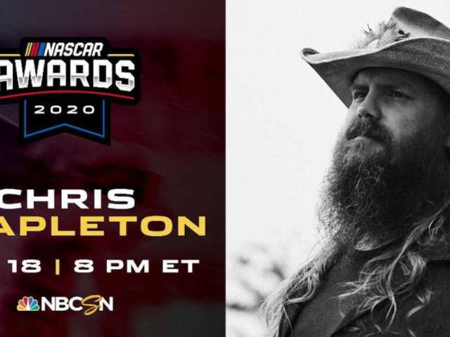 Country Superstar Chris Stapleton Performing New Song During NASCAR Awards Show on Wednesday