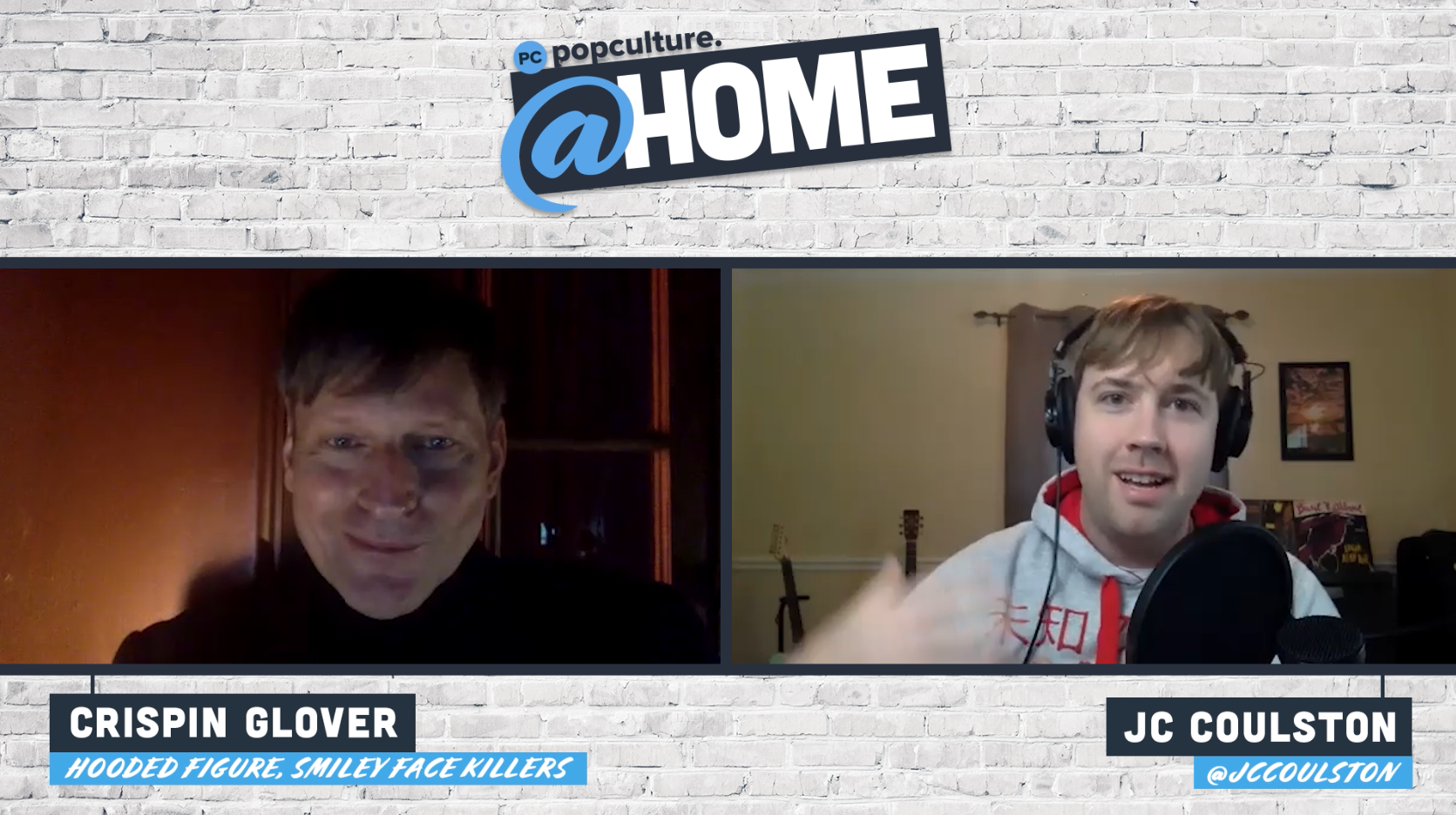Crispin Glover Talks Smiley Face Killers - PopCulture @Home Exclusive Interview