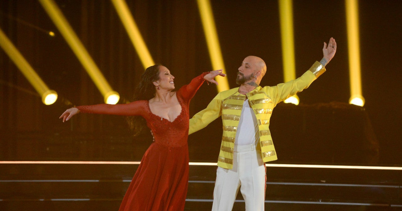 'Dancing With the Stars': Cheryl Burke Calls Out Scoring After Her and AJ McLean's Shocking Elimination.jpg