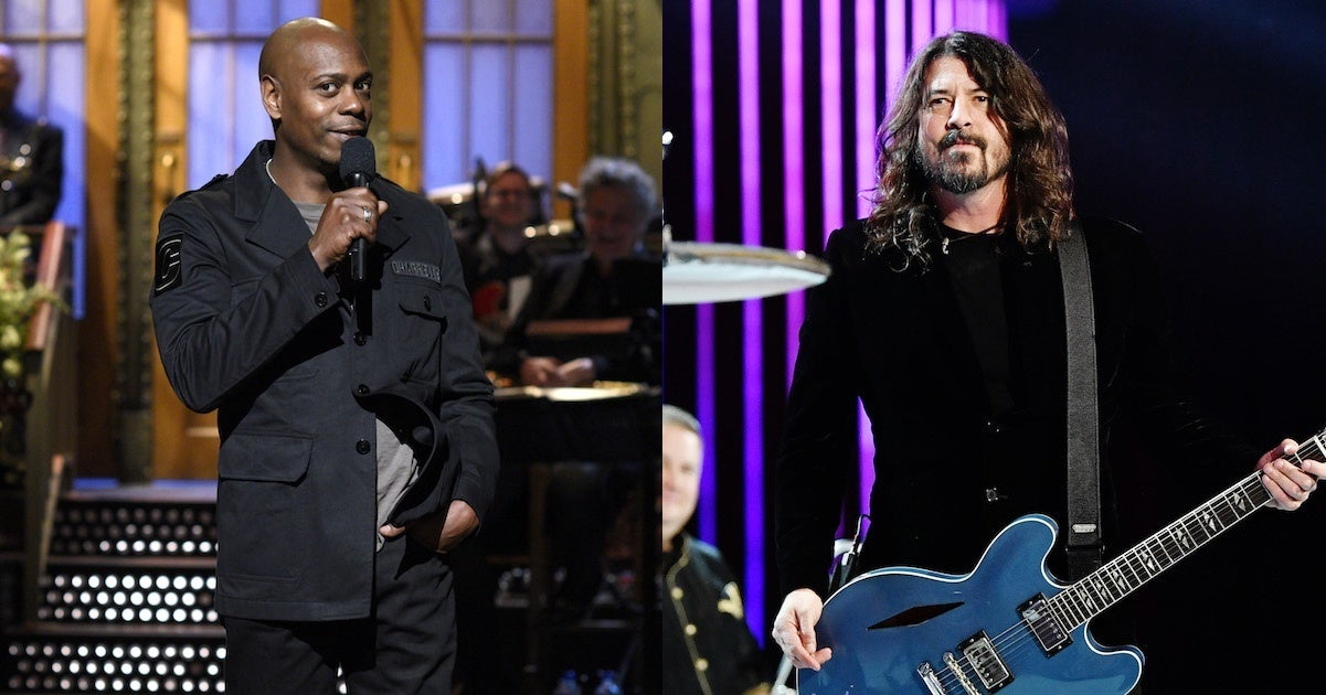 dave-chappelle-snl-foo-fighters-dave-grohl-getty