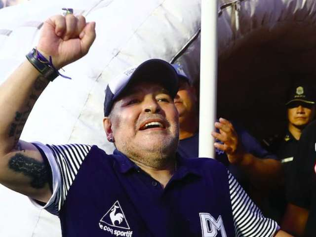 Diego Maradona, Soccer Legend, Undergoes Successful Surgery for Bleeding on the Brain