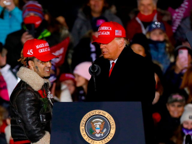 Donald Trump Mistakenly Calls Rapper Lil Pump 'Lil Pimp' During Final Rally