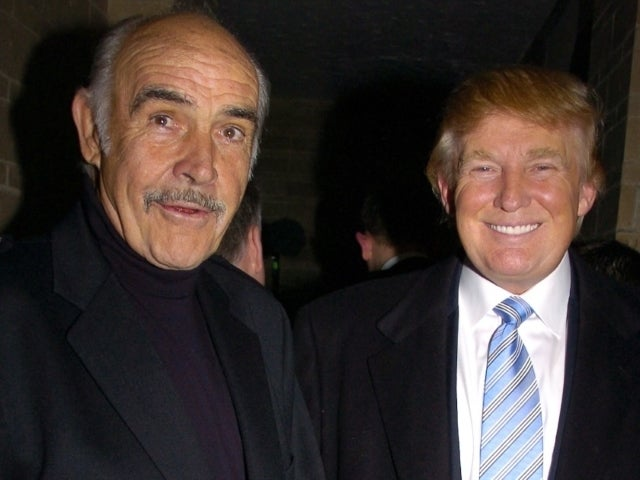 Donald Trump Gets Roasted for Making Sean Connery's Death About Him
