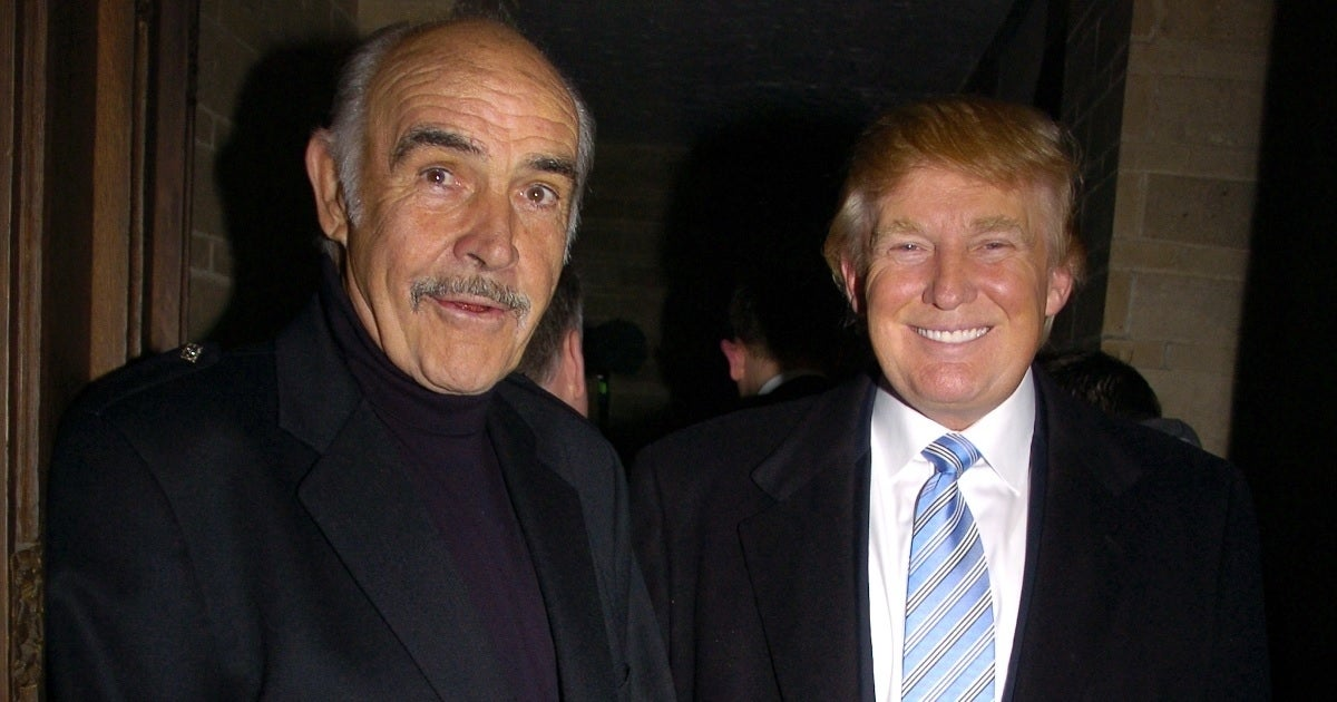 donald trump sean connery getty images