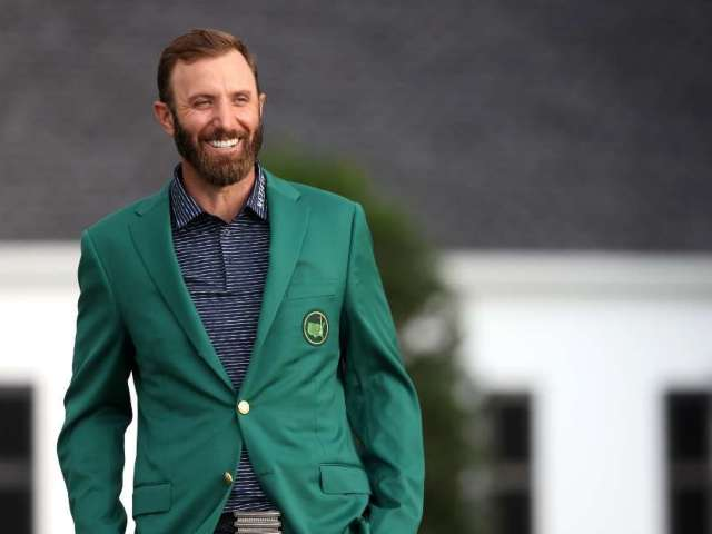 Dustin Johnson Expresses His Gratitude Following 2020 Masters Win