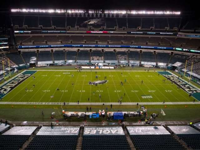 Eagles Fans Banned From Lincoln Financial Field Due to New COVID-19 Restrictions