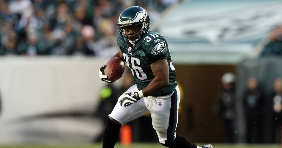 Eagles Legend Brian Westbrook reflects NFL career talks giving care packages troops