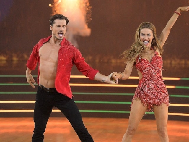 'Dancing With the Stars' Pro Gleb Savchenko Smiles During Monday's Episode After Ex-Wife's Cheating Allegations