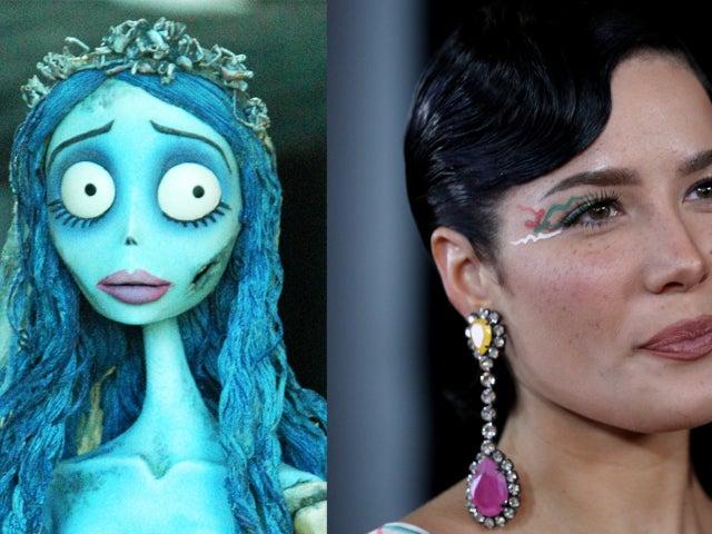 Halsey Turns Into 'Tim Burton's Corpse Bride' for Halloween