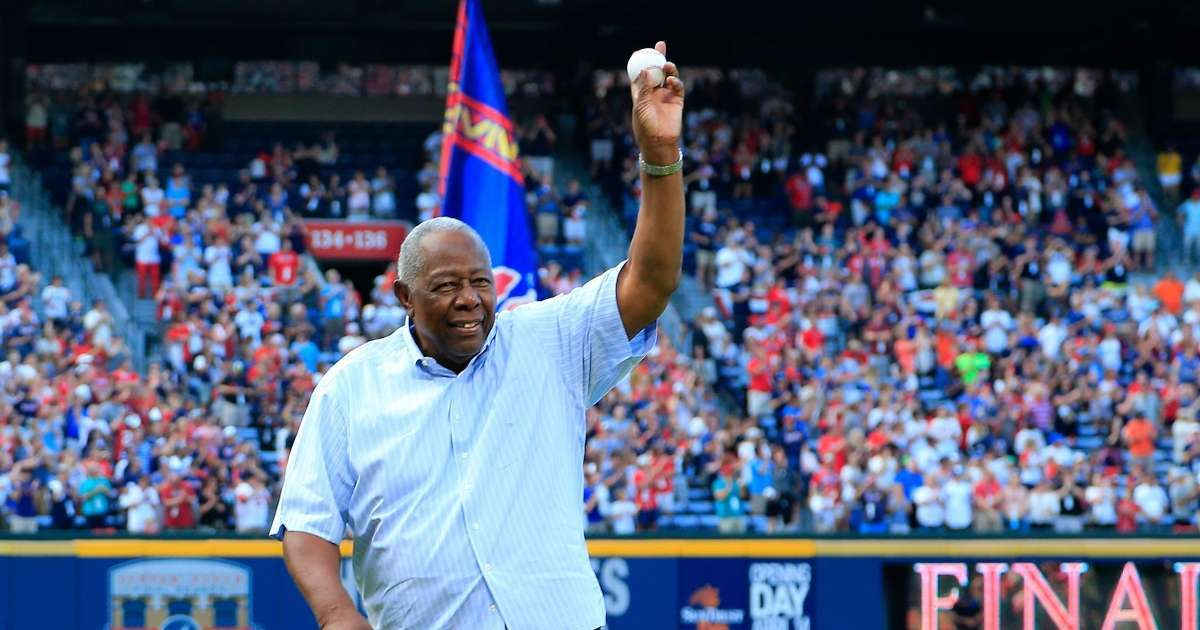 Hank Aaron Braves legend dead