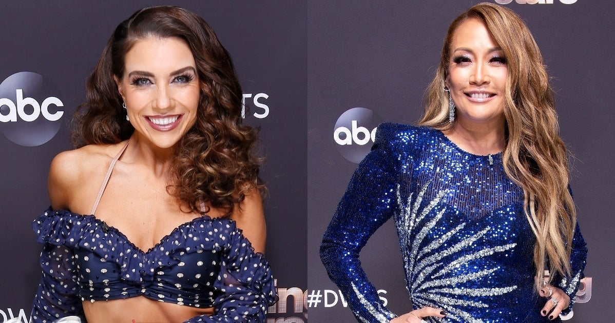jenna johnson carrie ann inaba getty images abc