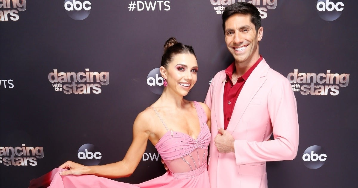 jenna johnson nev schulman dwts abc getty images