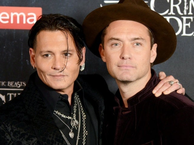 Johnny Depp's 'Fantastic Beasts' Co-Star Jude Law Reacts to His Exit