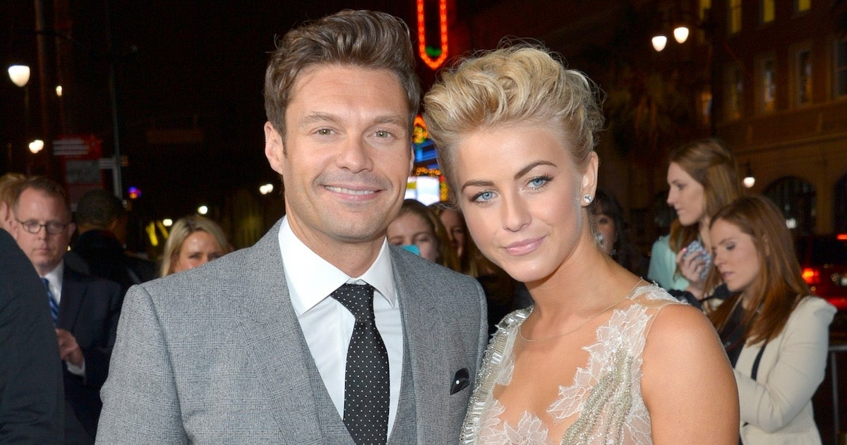 Julianne Hough Ryan Seacrest