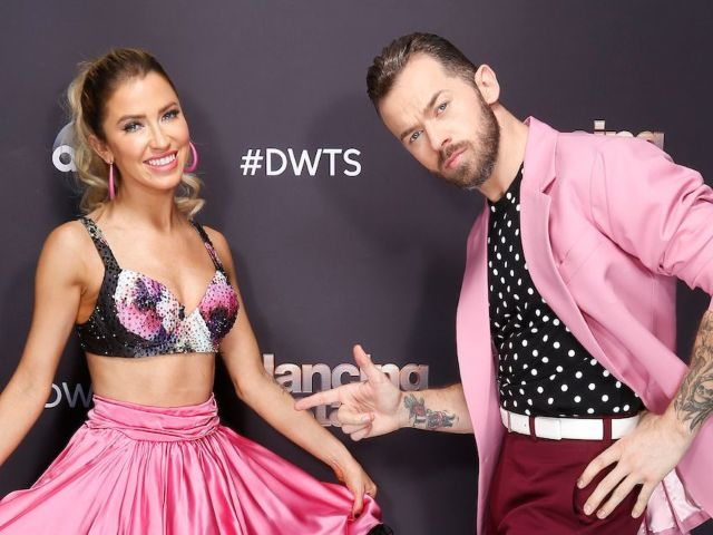 'Dancing With the Stars': Artem Chigvintsev and Kaitlyn Bristowe Skirt Social Distancing to Hug Carrie Ann Inaba