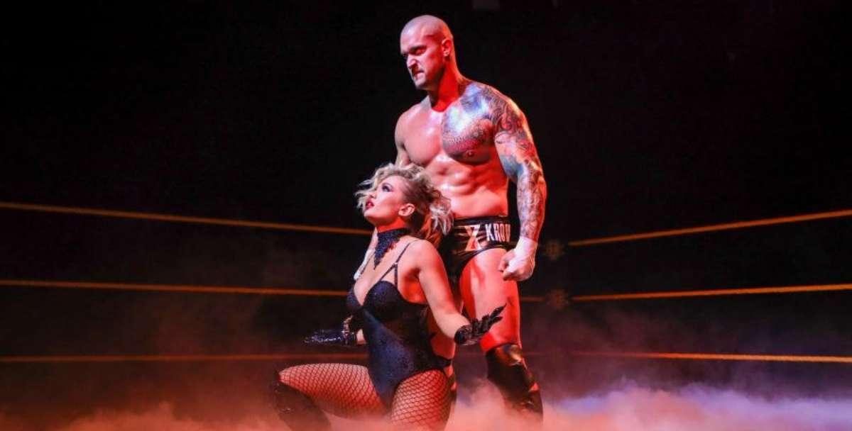 Karion Kross Scarlett WWE Mexico vacation