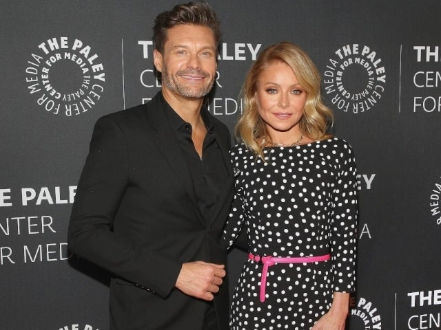 Ryan Seacrest Almost Hilariously Splits Pants During Dance in Front of 'Live' Co-Host Kelly Ripa