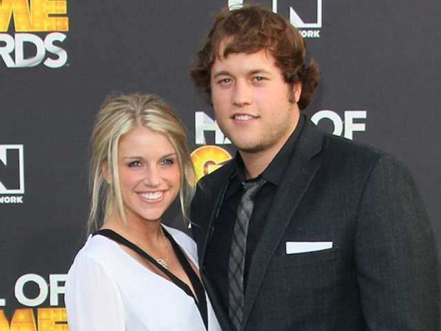 Matthew Stafford and His Wife Kelly: All the Best Photos of the Detroit Lions Quarterback's Family