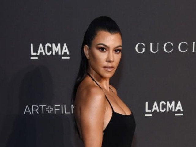 Kourtney Kardashian Behind-the-Scenes Snaps From 'KUWTK' Photoshoot