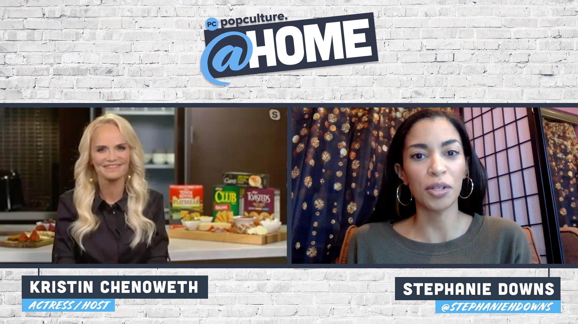 Kristin Chenoweth - PopCulture @Home Exclusive Interview