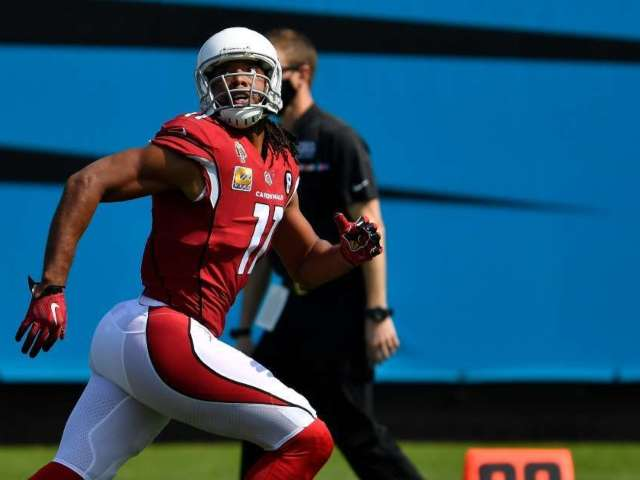 Larry Fitzgerald Tests Positive for COVID-19, Will Miss First Game Since 2014