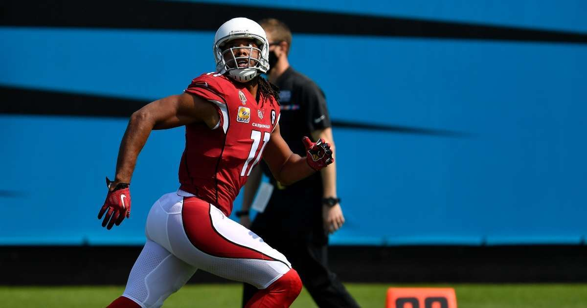 Larry Fitzgerald test positive COVID-19 miss first game since 2014