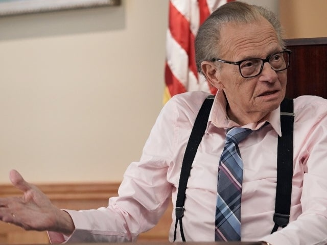 Larry King Reportedly Feeling Better After Being Hospitalized This Week