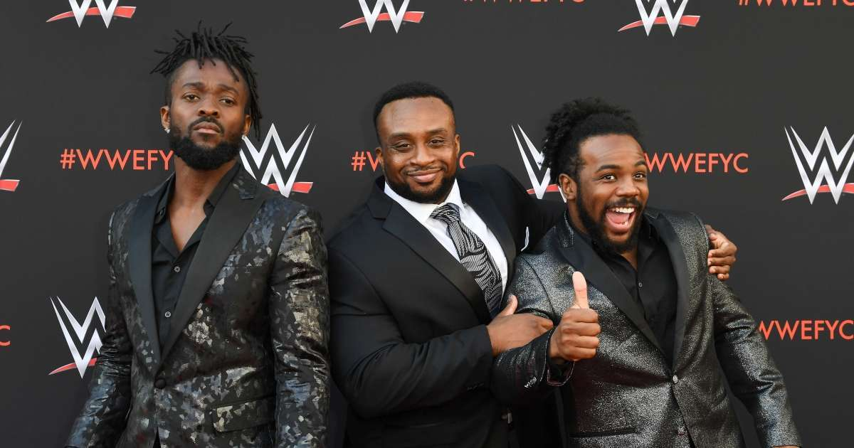 Lazur Wulf Big E New Day Teammates Kofi Kingston Xavier Woods join him season 2