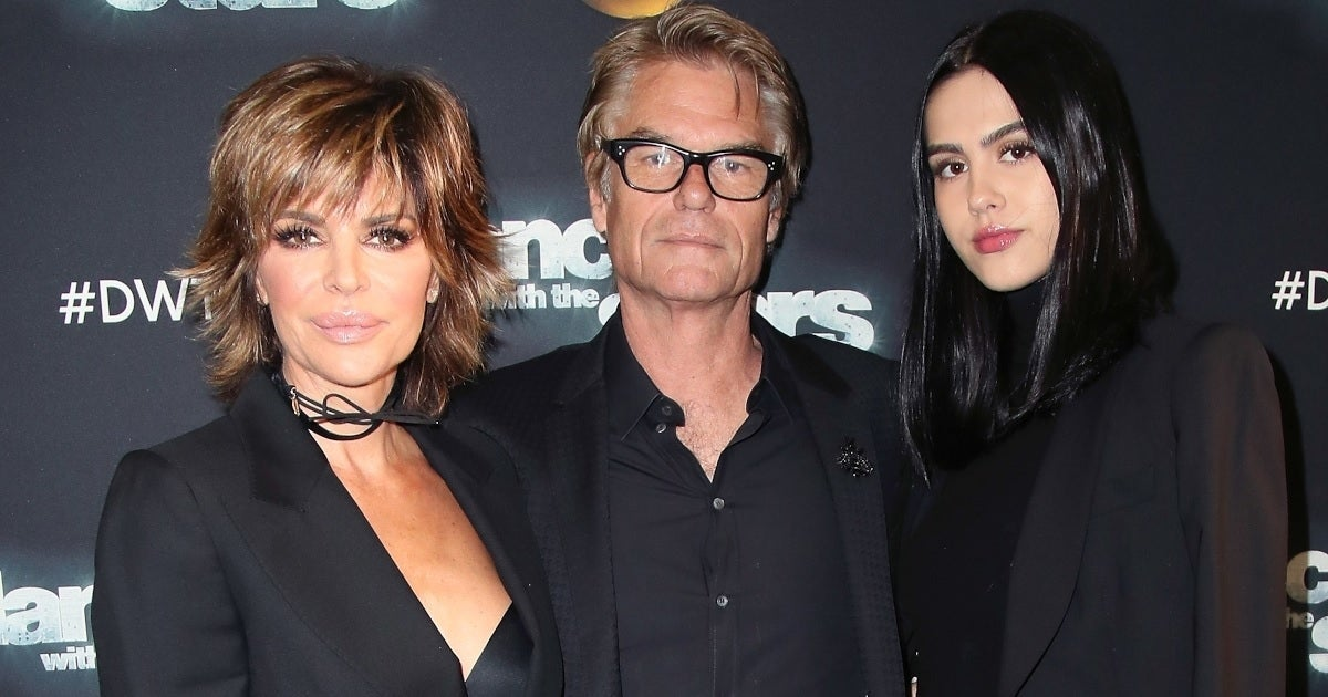lisa rinna harry hamlin amelia hamlin getty images