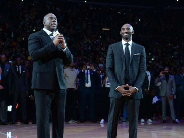 Magic Johnson Says Lakers Made Kobe Bryant 'Very Proud' After Winning NBA Championship