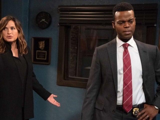 'Law & Order: SVU' Star Mariska Hargitay Welcomes New Series Regular Demore Barnes in Behind-the-Scenes Video