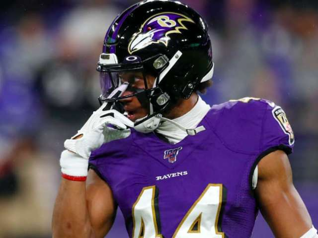 Ravens' Marlon Humphrey Tests Positive for COVID-19 After Steelers Game