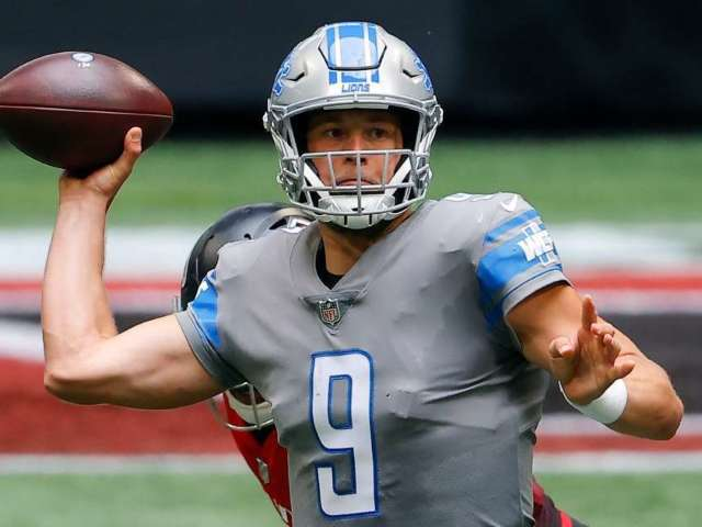 Matthew Stafford Tests Negative for COVID-19, According to Wife Kelly