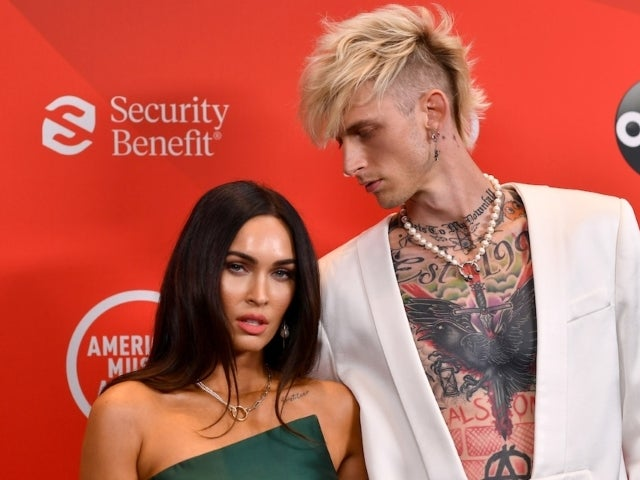 Megan Fox Sparks Engagement Rumors After Being Spotted During Machine Gun Kelly's 'SNL' Rehearsal With Ring
