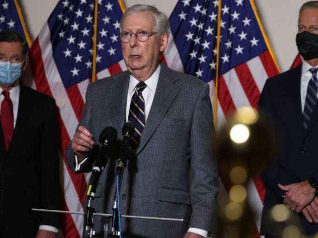 Stimulus Checks: Mitch McConnell Still Not Considering HEROES Act, Belittles It as 'Unserious'