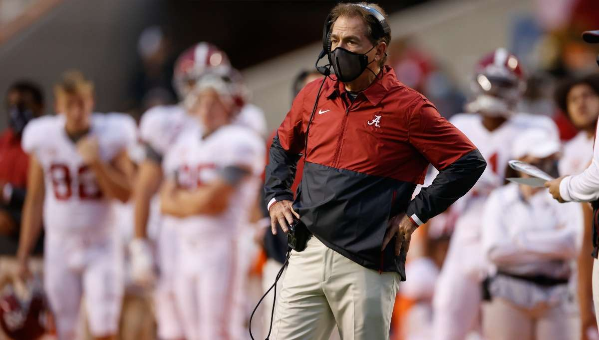 Nick Saban tests positive COVID-19, very mild symptoms