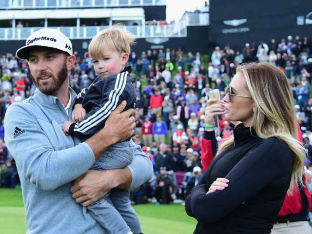 Paulina Gretzky and Dustin Johnson: All the Cutest Photos With Their Kids