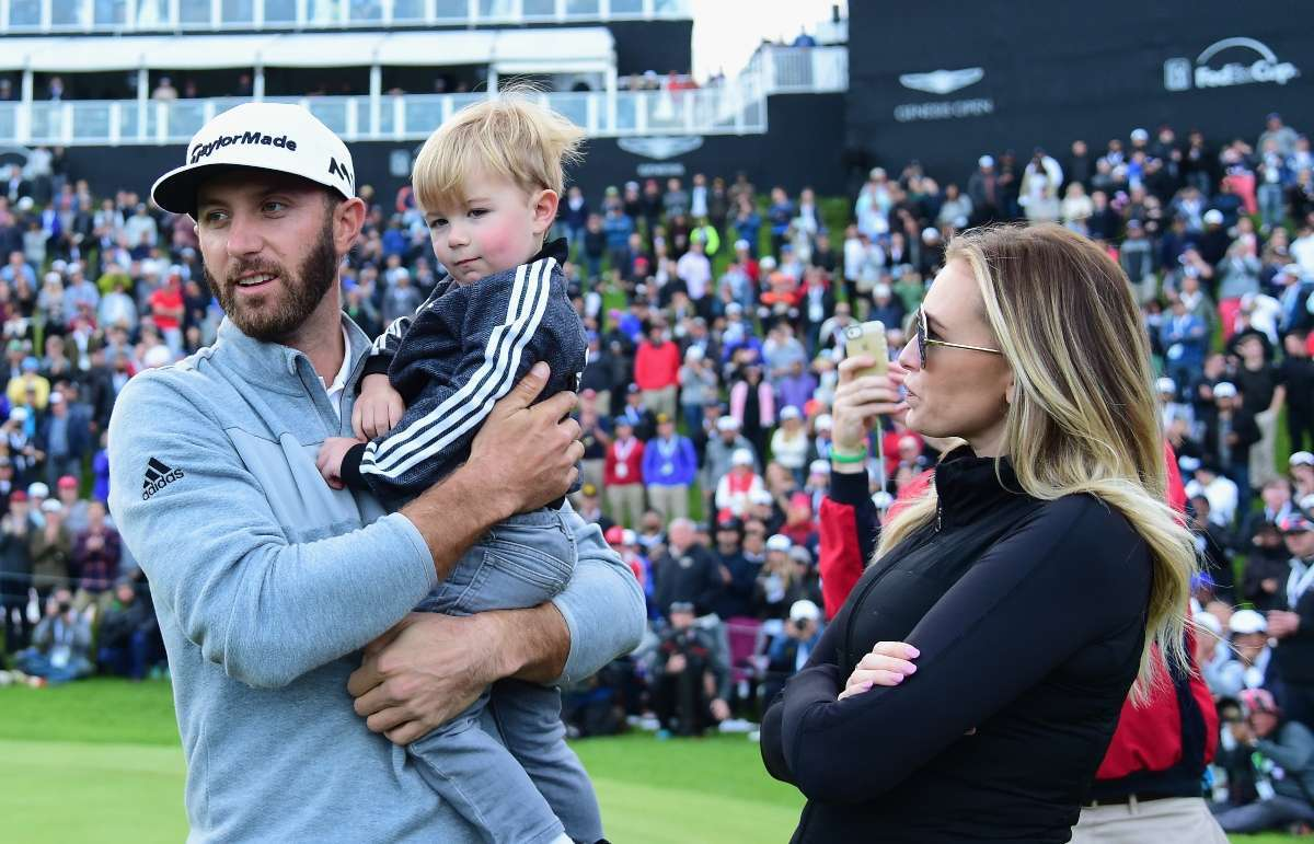 Paulina Gretzky and Dustin Johnson all the cutest photos with kids
