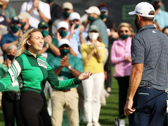 Paulina Gretzky Says She's Dustin Johnson's 'Biggest Fan' After Golf Star's Masters Win