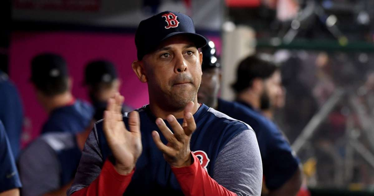 Red Sox re-hire Alex Cora fired Astros cheating scandal