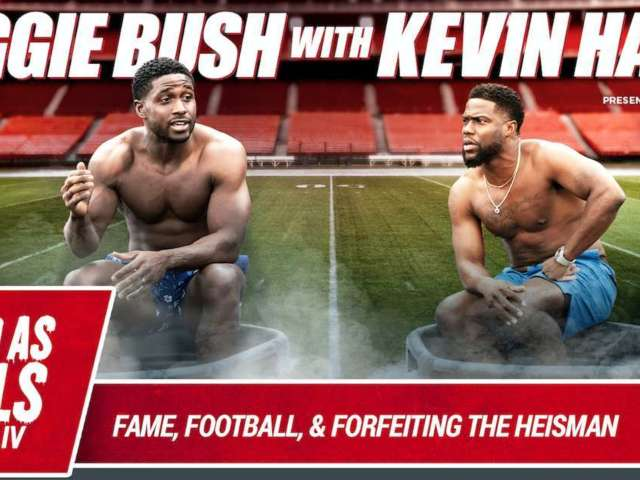 Reggie Bush Details Draft Experience During Kevin Hart's Interview Series, 'Cold As Balls'