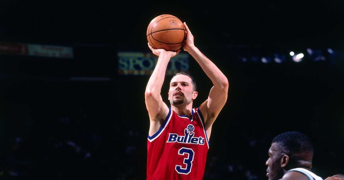 Rex Chapman NBA career Bullets