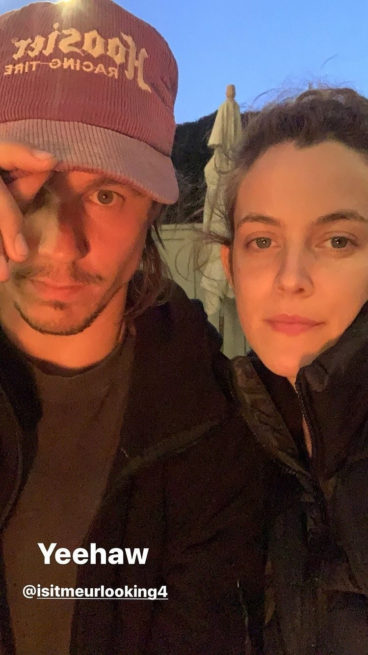 rileykeough with husband instagram