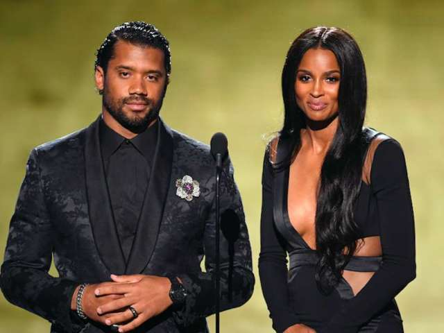 Halloween: Ciara and Russell Wilson Channel Janet Jackson's Duet With Busta Rhymes, and Fans Love It