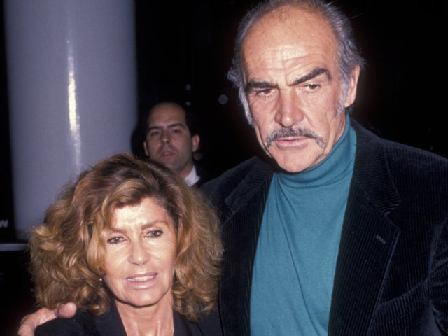 Sean Connery Holds Wife Micheline Roquebrune's Hand in One of His Final Photos