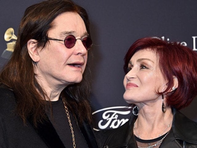 Ozzy and Sharon Osbourne Get Cozy With Their Dogs in New Photo