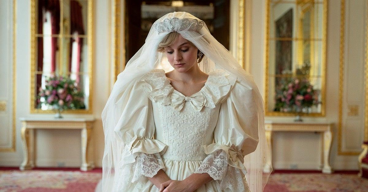 the-crown-diana-wedding-dress-netflix